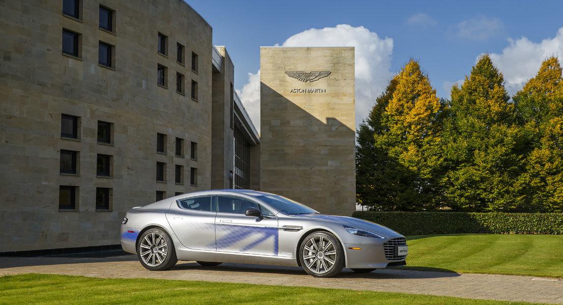 Foto de Aston Martin RapidE (11/11)
