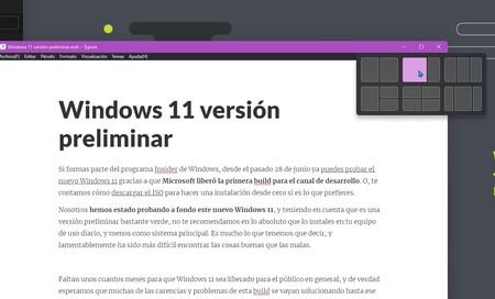 Windows Layouts