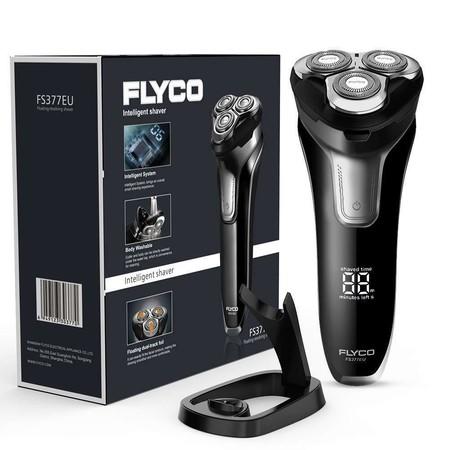 Oferta del día en la afeitadora para hombre Flyco FS377EU: hasta medianoche cuesta 29,99 euros en Amazon