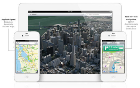 Apple dice adiós a Google Maps en iOS 6