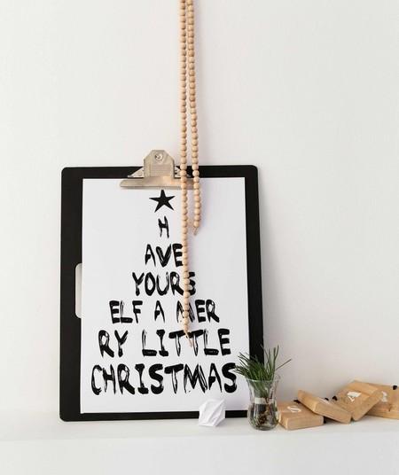 La semana decorativa: ideas para adornar la pared, algunas muy navideñas