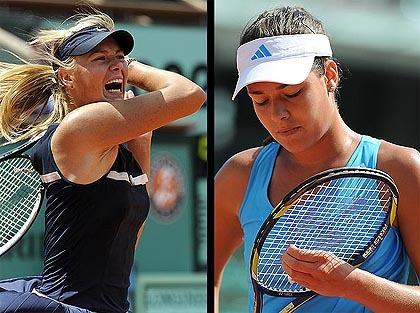 Los mejores peinados en Roland Garros 2009