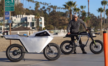 Cyberbike eléctrica De Casey Neistat 1