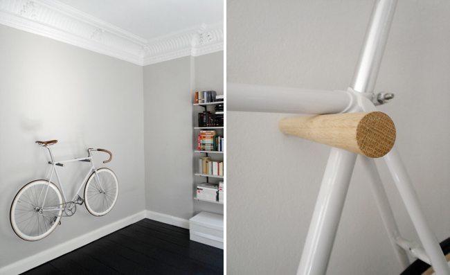 Soporte bicicleta minimalista - 1