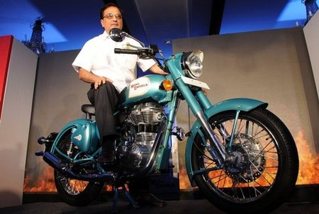 Royal Enfield planea una gama bicilíndrica de gran cilindrada para 2013