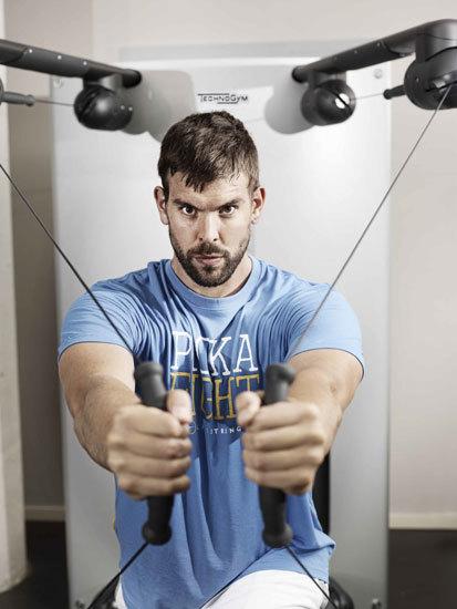 El gimnasio en casa de Marc Gasol con equipamiento de Technogym