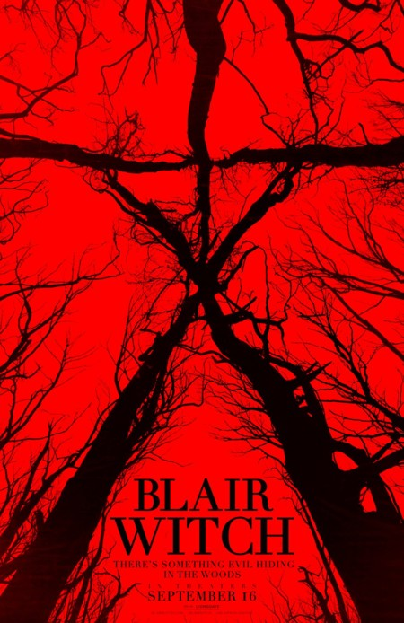 Primer póster de Blair Witch