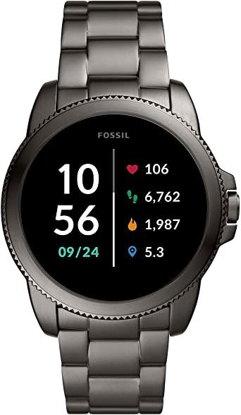 Smartwatch Fossil Gen 5E FTW4049 de acero gris