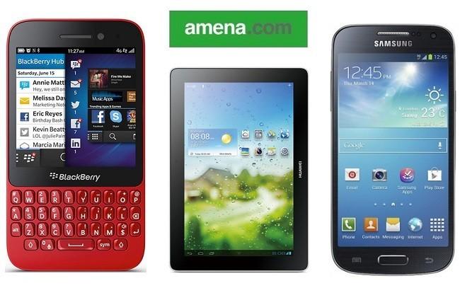 Precios Samsung Galaxy S4 Mini, BlackBerry Q5 y Huawei MediaPad 10 Link con Amena