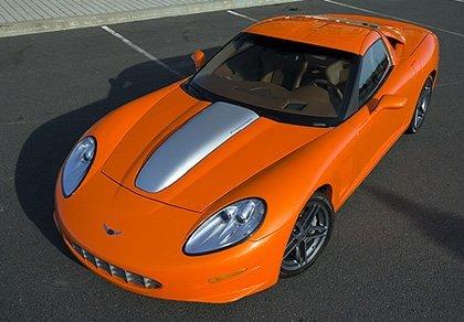 Callaway C16, artesanía sobre un Corvette