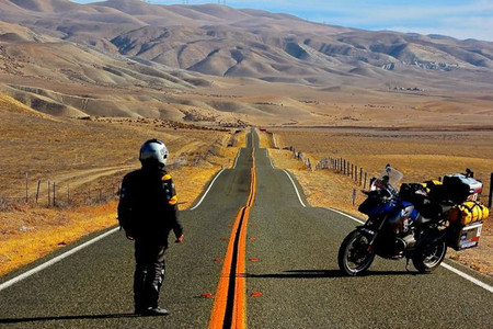 Old Spanish Trail. USA de costa costa. California, de Carissa Highway a Big Sur