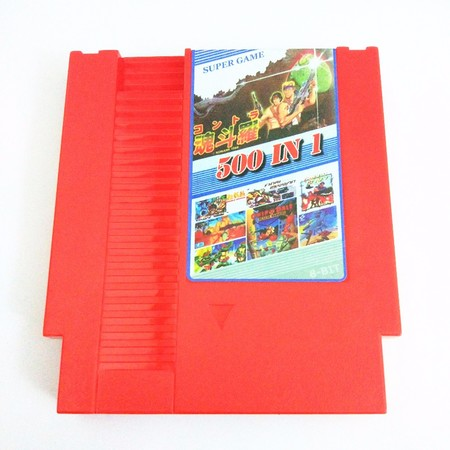 New Arrival 500 In 1 Games Collection Contra123678 Double Dragon1234 Ninjia1234 8 Bit 72 Pins Game
