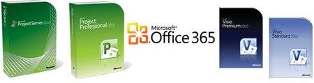 Visio y Project se incorporarán al catálogo de aplicaciones de Office 365