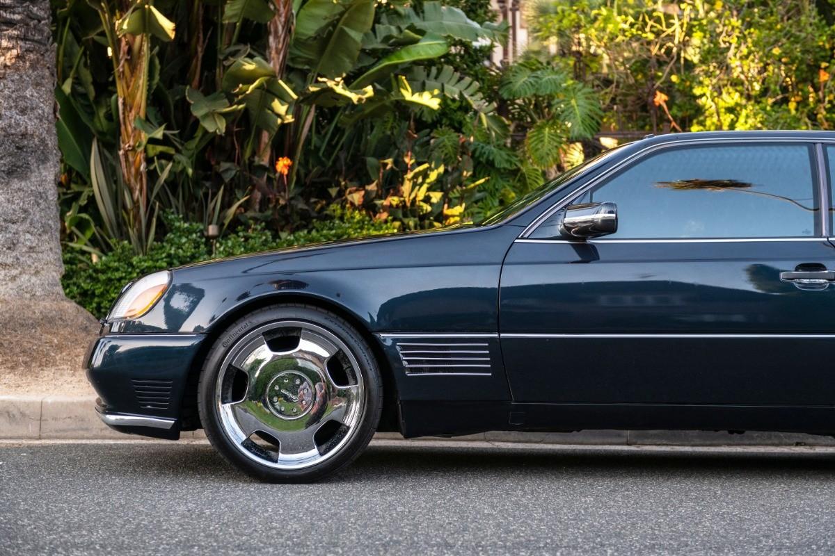 Foto de El Mercedes Benz S600 Lorinser de Michael Jordan, a subasta (8/18)