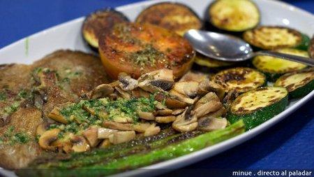 Restaurante villaplana - parrillada verduras
