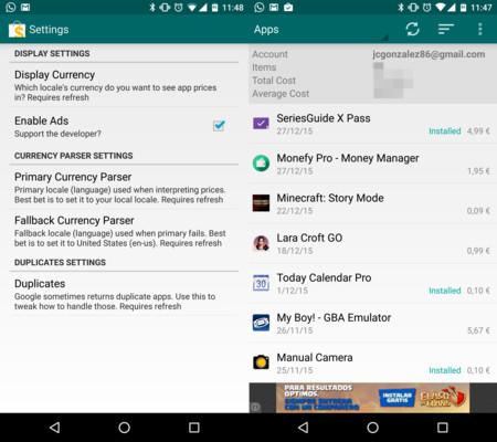 Cómo ver en detalle todo el dinero que llevas gastado en aplicaciones en Google Play