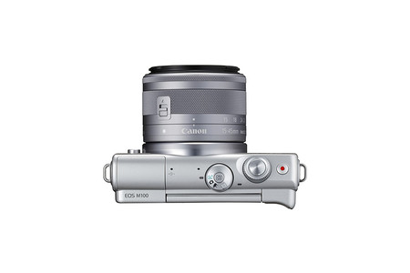 Eos M100 Ef M 15 45mm Is Stm Gray Top