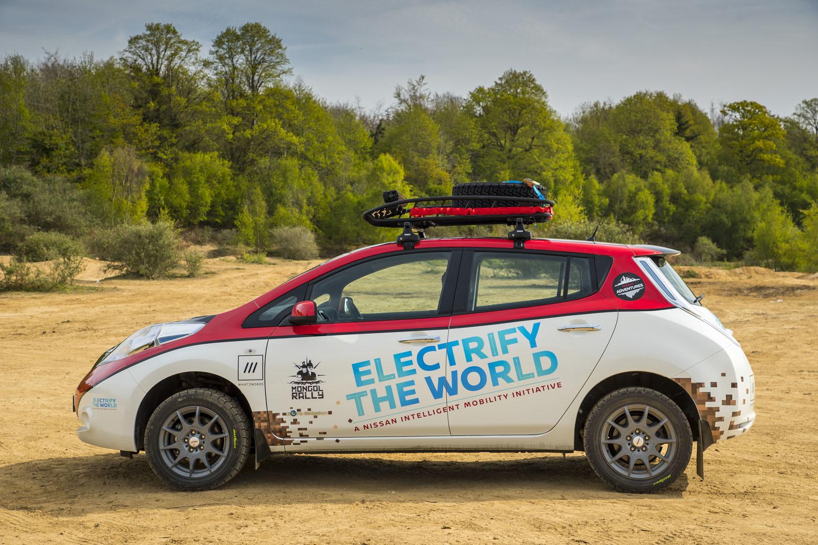 Foto de Nissan Leaf AT-EV (13/19)