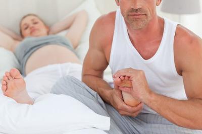 Masajes relajantes durante el embarazo