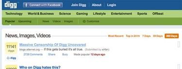 Digg, vendida al mejor postor por 500.000 dólares. ¿Qué salió mal?