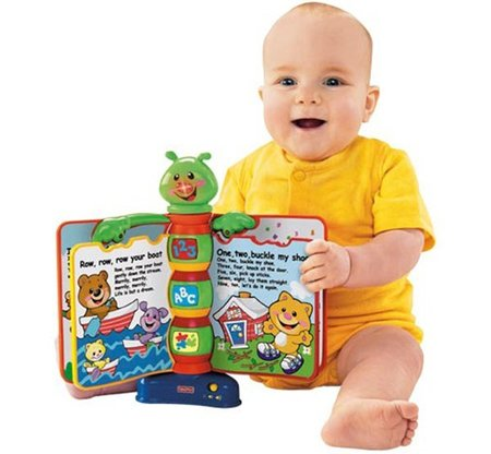 libro aprendizaje Fisher Price