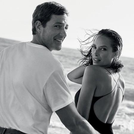 Tras más de 30 años, Christy Turlington vuelve a protagonizar la campaña de Eternity de Calvin Klein junto a su marido, Ed Burns