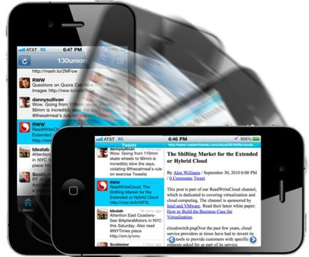 ÜberTwitter da el salto de BlackBerry a iPhone