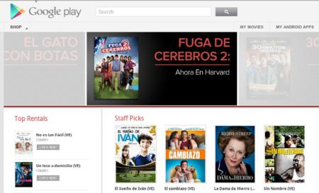 Google Play Películas ya está en España