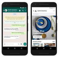 De compras en WhatsApp: Facebook añade sus tiendas online a la app de mensajería