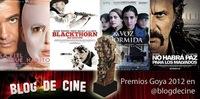 Premios Goya 2012: sigue en directo la ceremonia con Blogdecine y a través de Twitter
