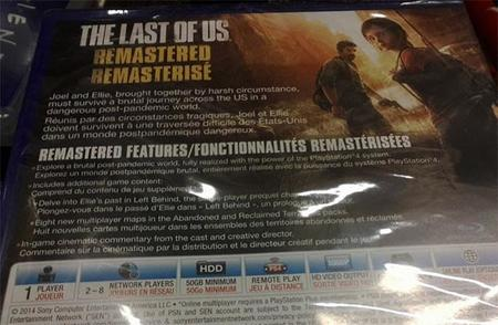 Menos mal que PS4 trae un buen disco duro para instalar The Last of Us Remasterizado