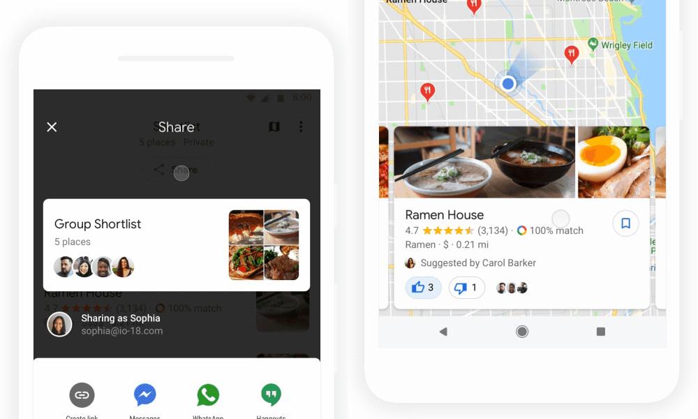 Google Maps para Android: cómo planificar dónde ir con tu conjunto de amigos
