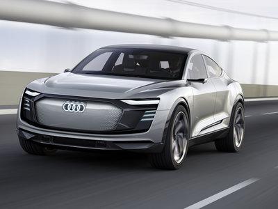 Audi e-tron Sportback Concept, el EV que usa 250 LEDs para comunicarse con el mundo