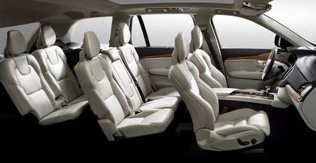 Volvo XC90 7 plazas interior