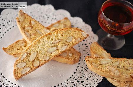 Biscotti clásico de almendras. Receta
