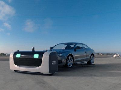 Para unos aparcamientos de aeropuerto más eficientes, mejor dejar al robot Stan que nos aparque el coche