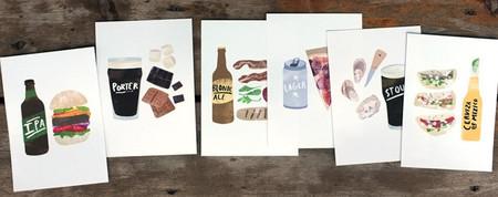 Las preciosas láminas ilustradas para tu cocina de Heidi Schweigert