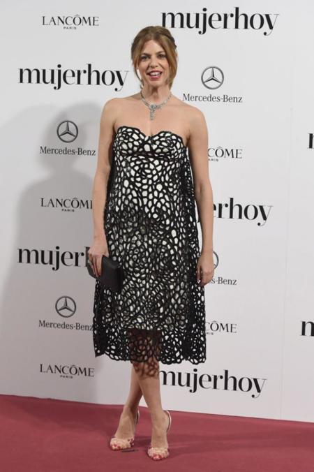 Manuela Velasco en los Premios Mujer Hoy 2014