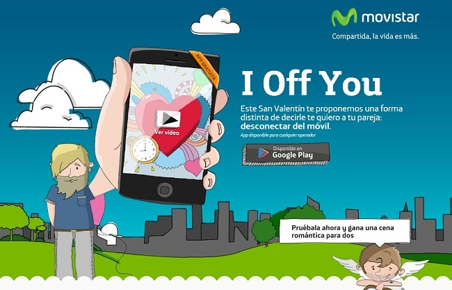 I Off You, la aplicación de Movistar para desconectar del smartphone