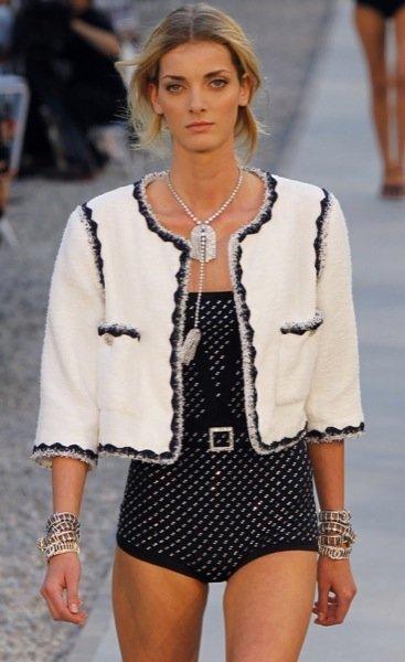 Colección Chanel Crucero 2012 geometría