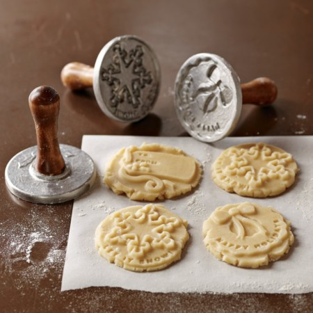Holiday Cookie Stamps Set Of 3 O