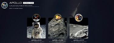 Esta espectacular web de un ingeniero de la NASA permite revivir tres misiones Apolo como si estuviésemos en el centro de control