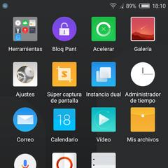 Foto 3 de 18 de la galería nubia-n2-software en Xataka Android