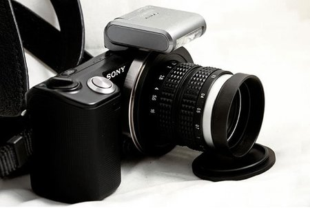 Lentes de juguete para cámaras de verdad