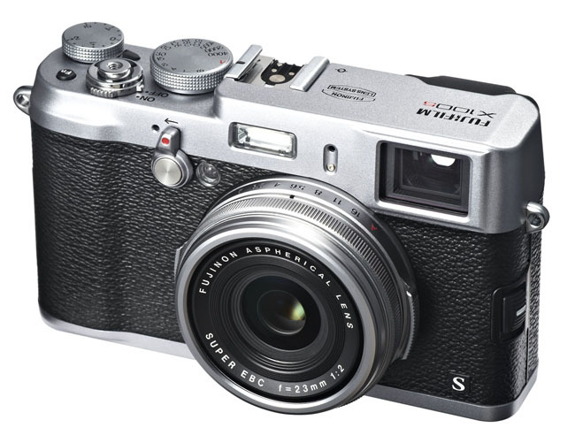 Fujifilm X100S frontal lateral