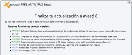 Un vistazo a las nuevas características de Avast! 8