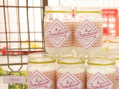 Produce, velas perfumadas de inspiración orgánica y aromas naturales