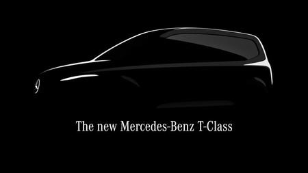 Nuevo Mercedes-Benz Clase T: una furgoneta eléctrica pensada para las familias, más pequeña que la Clase V y lista para 2022