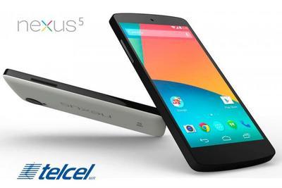 EXCLUSIVA: Nexus 5 por fin en México