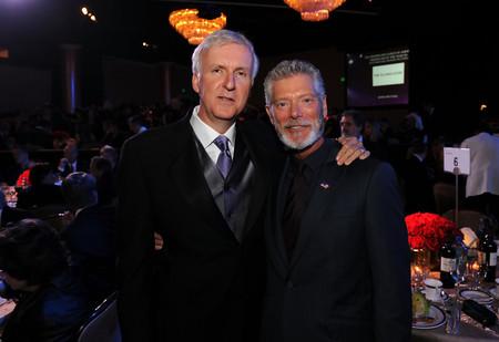 James Cameron con Stephen Lang
